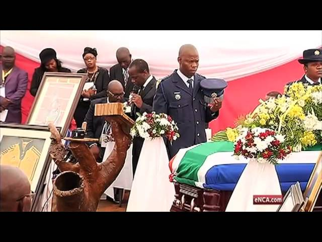 Chabane speaks of SA's grief at Mulaudzi funeral