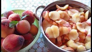 Варенье из персиков с корицей! Заготовки на зиму