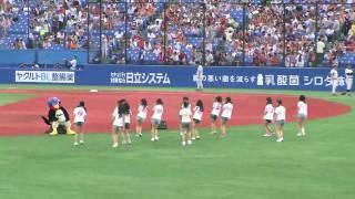 2009/08/23 東京ヤクルト-読売ジャイアンツ 神宮球場にアイドリングが来...