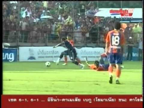 Franck Ohandza Goal Thai Port FC 1 0