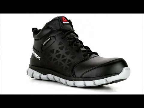 Men's Reebok Sublite Composite Toe Waterproof Athletic Work Boot RB4144 @ Steel-Toe-Shoes.com