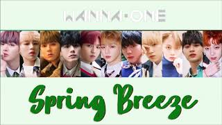 Spring breeze(봄바람) - Wanna One(워너원)[MP3 Audio]