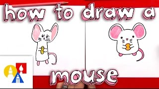 How To Draw A Cartoon Mouse