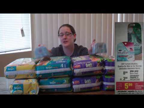 Pampers and Luvs diapers for cheap @CVS !