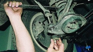 Стук в передней подвеске газ 3110