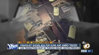 guns ammo trades and sales found on craigslist