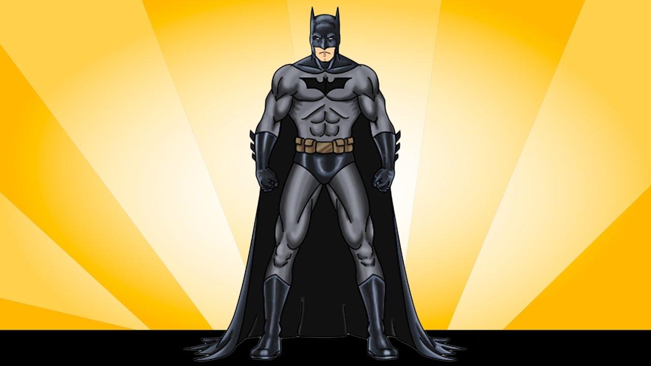 تعليم الرسم للأطفال رسم باتمان How To Draw For Kids Draw Batman Su Superhero Batman Drawing For Kids Superhero