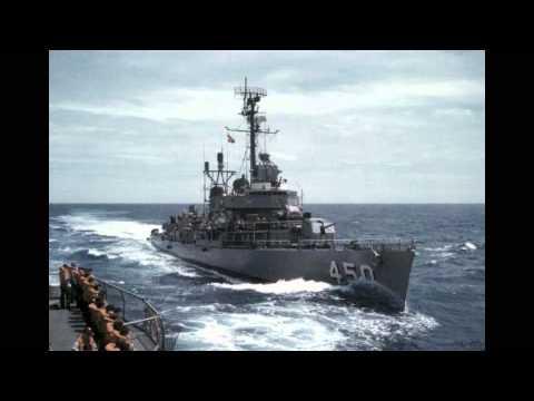 USS O'BANNON  NAVAL DESTROYER