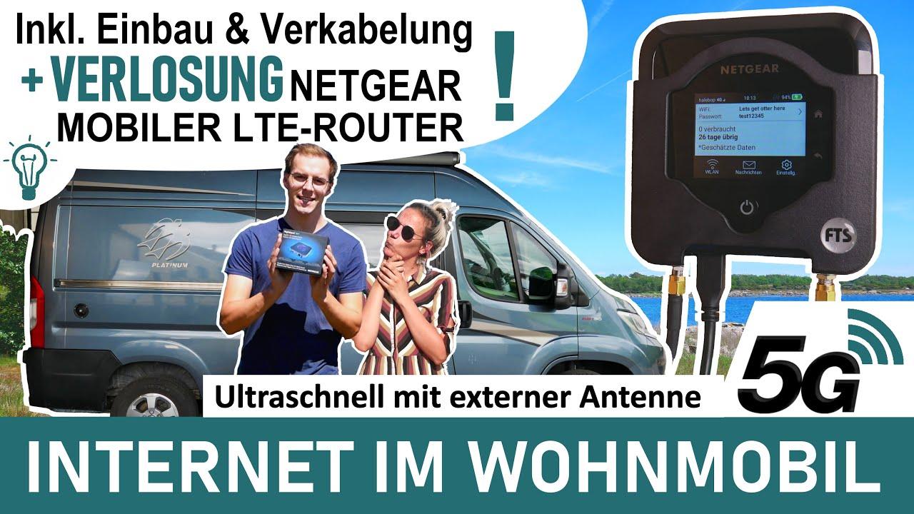 5G (!) im WOHNMOBIL - unser Set-up für MOBILES INTERNET im Camper - superschnelles WLAN / LTE / 5G