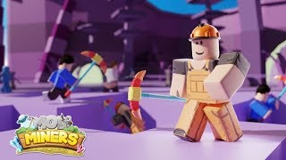 🐶roblox Mob Miners and mining simulator🐶