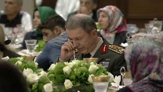Erdoğan'ın konuşması Genelkurmay Başkanını duygulandırdı