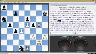 Deep Rybka 4.1 x64 vs Houdini 3 x64, LTC Chess Match Game 26 of 96