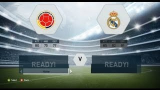 FIFA 14 Demo Gameplay - Colombia VS Real Madrid (Full Manual & Legendary)