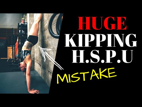Kipping HSPU Progression for WODs (WODprep Tutorial)