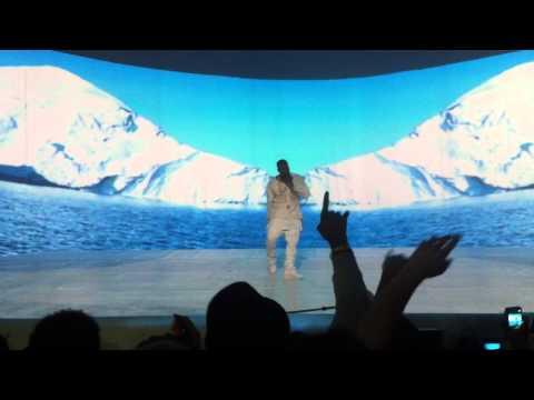 Concert Kanye West - Lost In The World @ Le Zenith de Paris 25 / 02 / 2013