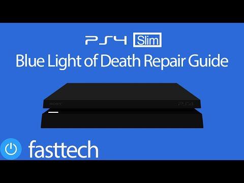 PS4 Slim BLOD (Blue Light of Death) Repair Guide