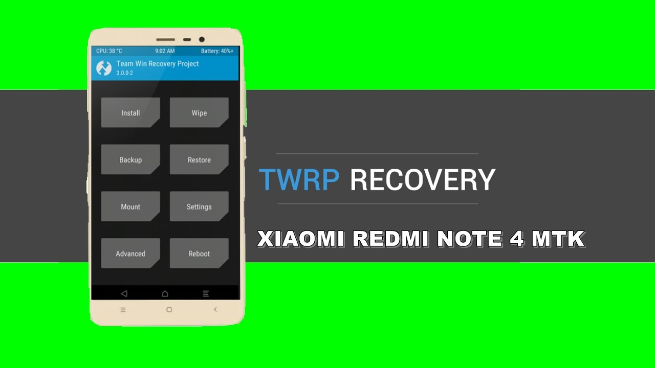 TUTORIAL: How to install TWRP RECOVERY + ROOT: Xiaomi redmi NOTE 4 MediaTek  MT6797 HELIO X20