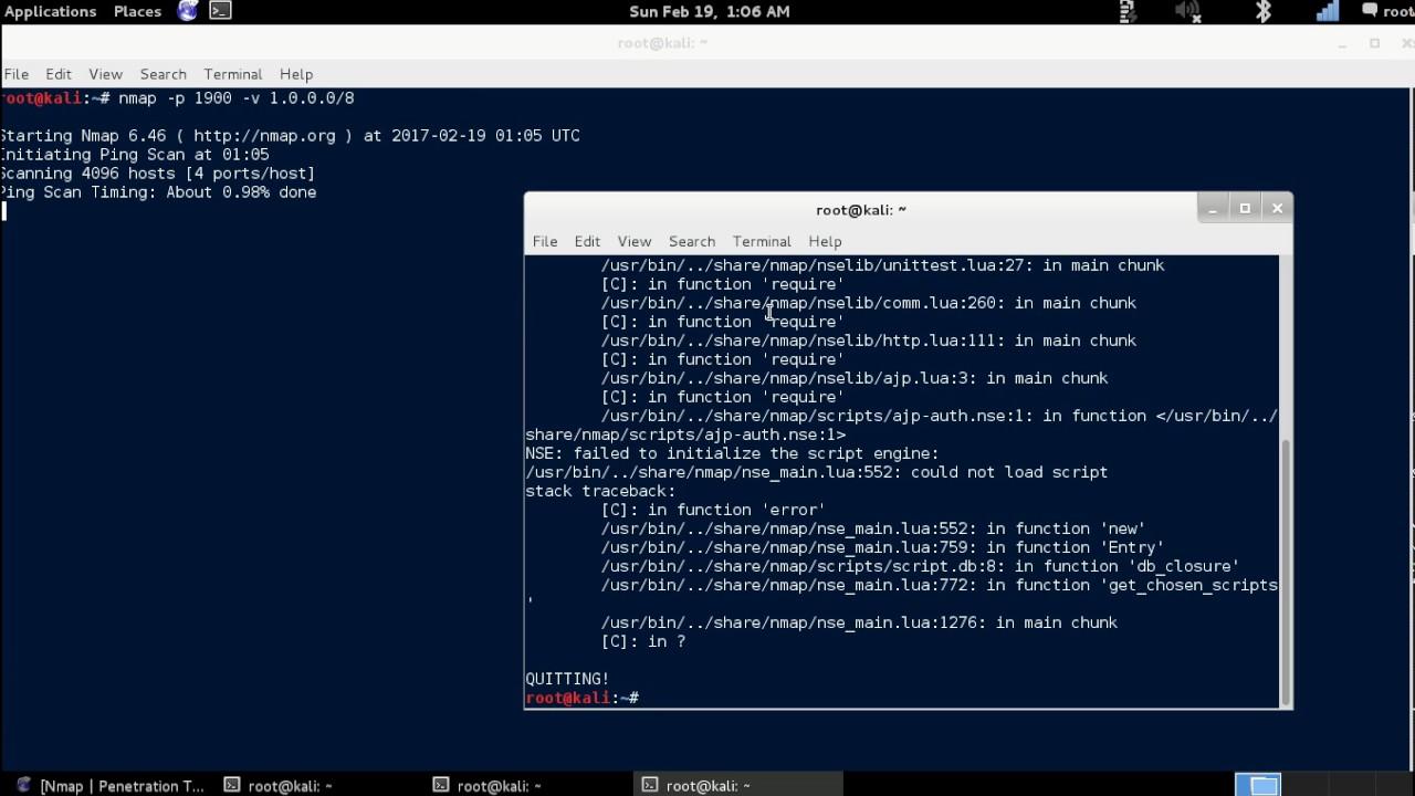 NMAP - The Network Mapper [Kali Linux]