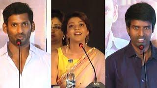Vishal, Kajal Agarwal, Soori at Paayum Puli Audio Launch launch function spl hot video news