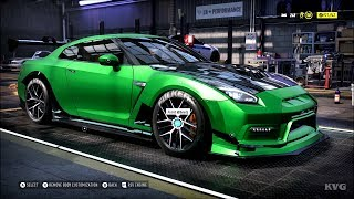 Need for Speed Heat - Nissan GT-R Premium 2017 - Customize | Tuning Car (PC HD) [1080p60FPS]
