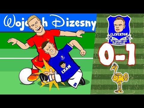 Everton vs Liverpool: 0-1! Ross Barkley horror tackle on Henderson! Mane Goal! Carol of the Bells!