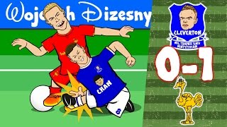 Everton vs Liverpool: 0-1! Ross Barkley horror tackle on Henderson! Mane Goal! Carol of the Bells!