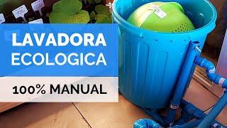 LAVADORA ECOLÓGICA CASERA 💧 | Tutorial paso a paso | Paso Sustentable