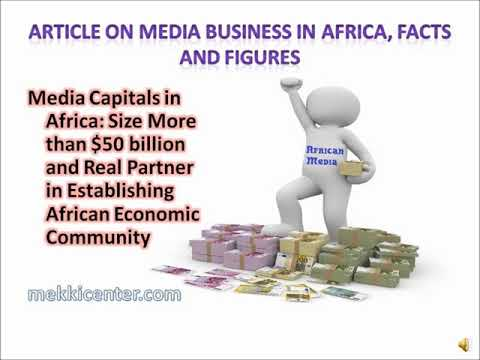DAKAR CONSULTATIVE WORKSHOP NOV 2018 Role of Media in AfCFTA Process: Mekki Elmograbi MC-Media