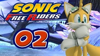 Sonic Free Riders #2 [XBox 360] - Team Heroes vs. Team Dark