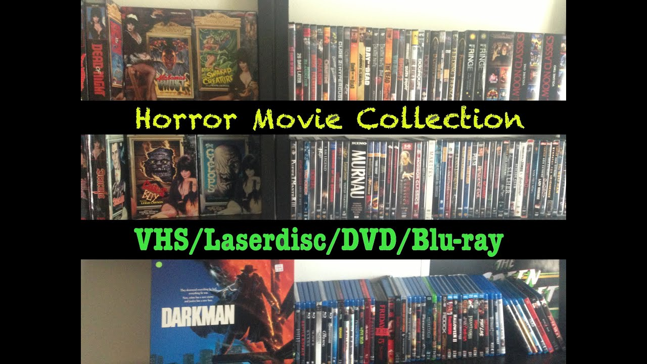 complete horror movie collection | logan toxic - youtube