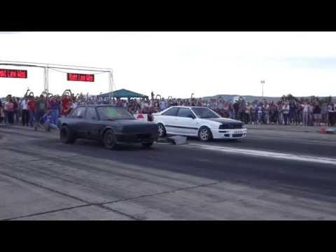 BMW E30 3.2 TURBO(800HP) BOH vs AUDI S2 TURBO(800HP+)