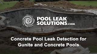 Concrete Pool Diagnostics