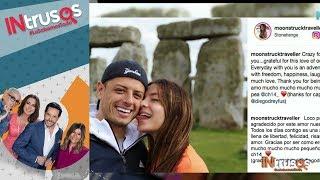 Chicharito y Sarah Kohan viven su amor libremente | Intrusos