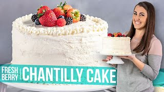 Fresh Berry Chantilly Cake Youtube