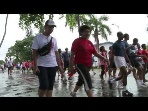 H.E Ratu Epeli Nailatikau joins Westpac morning walk