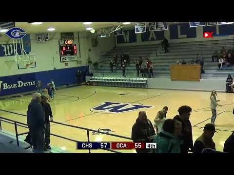 Cordell vs. Oklahoma Christian Academy  Basketball  2/22