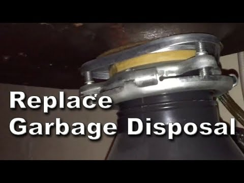 How to Install Replace Hard Wired Garbage Disposal on your K