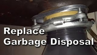How to Replace Hard Wired Garbage Disposal