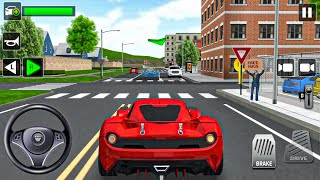 City Taxi Driving: Car Simulator #7 Sport Car! Android gameplay