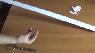 видео Как сшить шторы своими руками: римские шторы