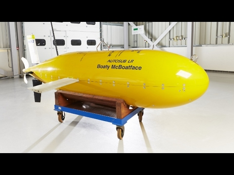 Boaty McBoatface heading off on first mission