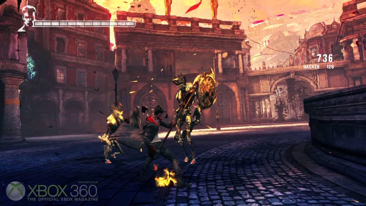 Fuse Xbox 360 Gameplay : Dmc devil may cry xbox gameplay youtube