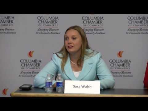 Michela Skelton Sara Walsh MO 50th District Forum - 12 July 2017