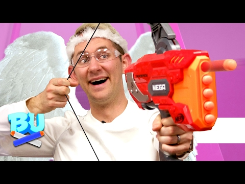 NERF Cupid's Arrow Challenge!