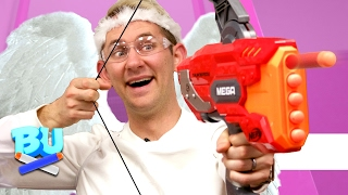 nerf cupids arrow challenge