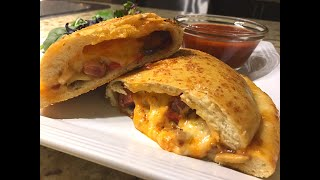 Calzone Recipe - Perfect Pizza Pocket! - Episode #252