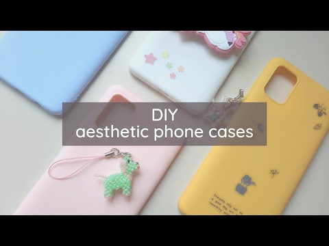 diy aesthetic phone