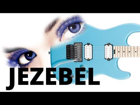 Charvel Pro-Mod San Dimas guitar play along : jezebel by Steve Rotter