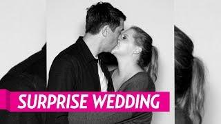 Amy Schumer Weds Chef Chris Fischer