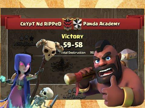 LWCW War Recap - CrYpT Nd RiPPeD VS Panda Academy